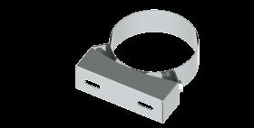 Wandabstandshalter starr, 50 mm konzentrisch für Tecnovis TWIN