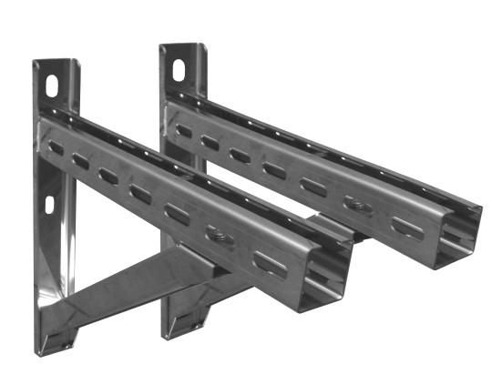 Wandstützen & Querträger, Typ IV, 1030 mm für Tecnovis DW-Systeme