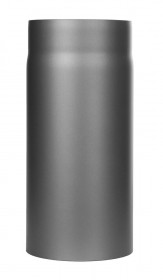 Ofenrohr - Längenelement 330 mm gussgrau - Tecnovis TEC-Stahl