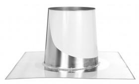 Flachdachdurchführung konisch - doppelwandig - Tecnovis DW-Standard