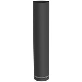 Pelletofenrohr - Längenelement 500 mm - schwarz lackiert - Tecnovis TEC-PELLET