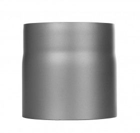 Ofenrohr - Längenelement 150 mm gussgrau - Tecnovis TEC-Stahl