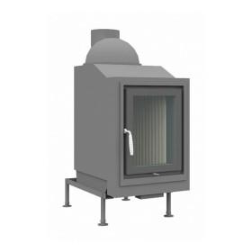 Heizeinsatz Brunner HKD 4.1 Drehtür Flachglas, 11 kW