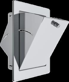 Einwurftüre 340 x 450 mm mit Türschloss - Tecnovis Wäscheabwurfschacht