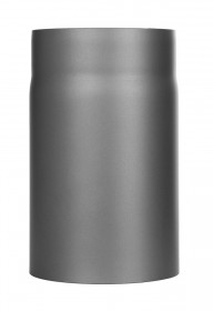Ofenrohr - Längenelement 250 mm gussgrau - Tecnovis TEC-Stahl