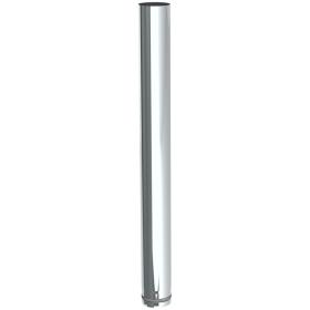 Pelletofenrohr - Längenelement 1000 mm - unlackiert - Tecnovis TEC-PELLET