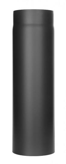 Ofenrohr - Längenelement 500 mm schwarz - Tecnovis TEC-Stahl