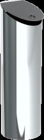Einwurfterminal mit Muschelgriff Höhe 980 mm - Tecnovis Wäscheabwurfschacht