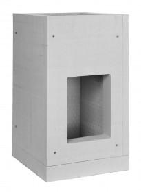Sockelelement 500 mm - Leichtbaukamin