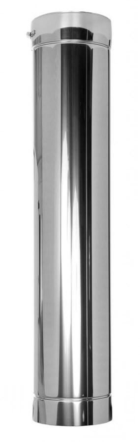 DWETN13-Längenelement 1000mm - in Rauchgasrichtung