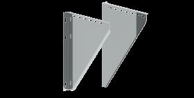 Konsolbleche, verstellbar von 150 - 250 mm - Tecnovis doppelwandig