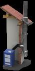 Edelstahlschornstein Jeremias DW-Mammut Aufbaumodell