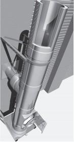 Edelstahlschornstein Bausatz Ø 130 mm - doppelwandig - Raab DW-Alkon