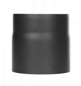 Ofenrohr - Längenelement 150 mm mit Kondensatring schwarz - Tecnovis TEC-Stahl
