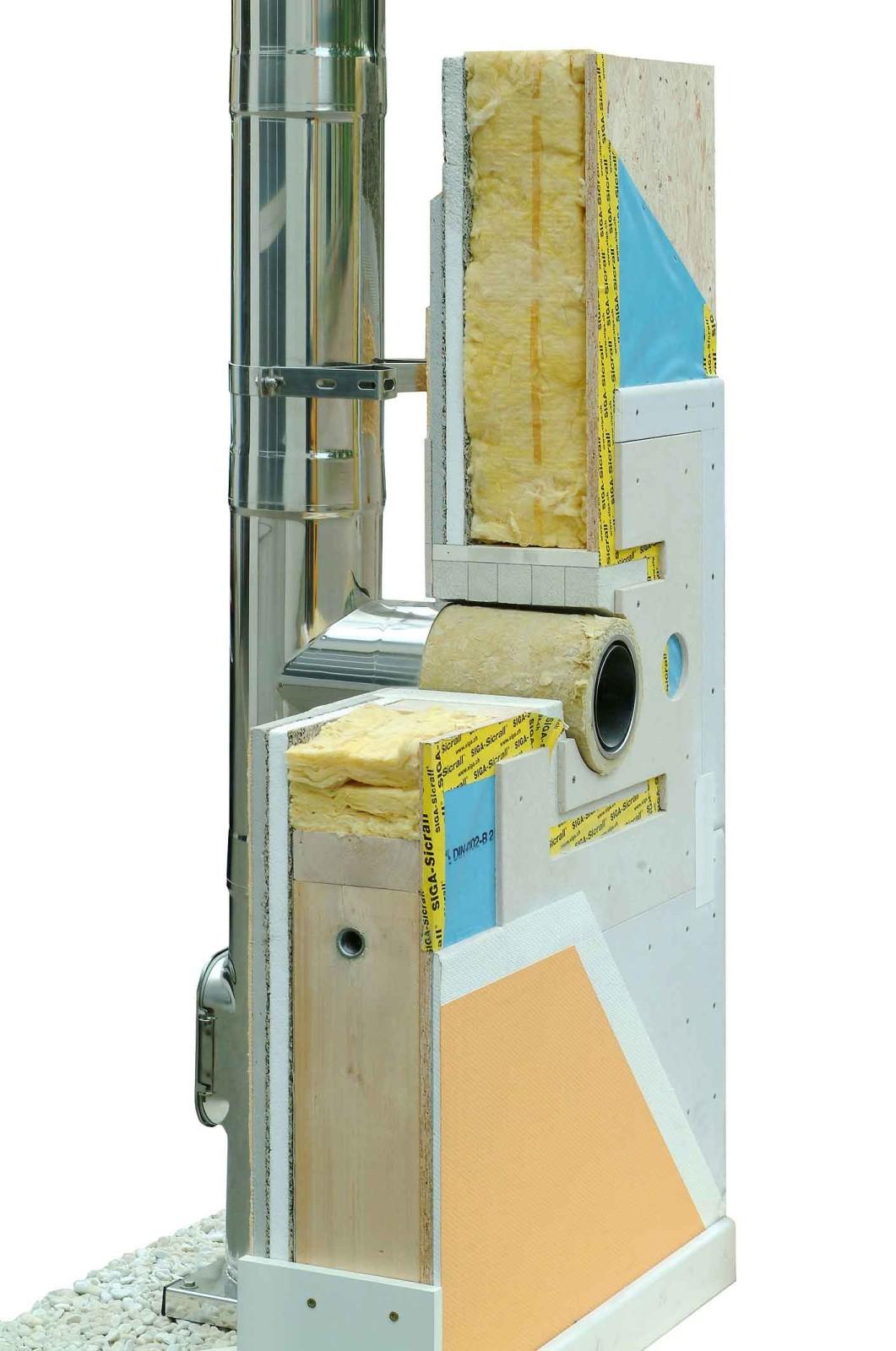wanddurchf hrung raab bis 120 mm wandst rke rauchfang fachhandel. Black Bedroom Furniture Sets. Home Design Ideas