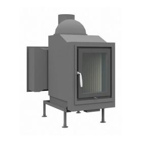 Heizeinsatz Brunner HKD 4.1 Drehtür Flachglas DHT M, 11 kW