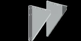 Konsolbleche, verstellbar von 250 - 360 mm - Tecnoivs doppelwandig