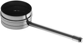 Kondensatschale mit 1/2'' Muffe und Verschlussschraube - einwandig für Tecnovis TEC-EW-Classic