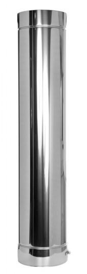 Längenelement 1000 mm - doppelwandig - Tecnovis TEC-DW-Standard