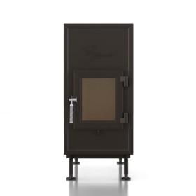 Heizeinsatz Brunner WF 50 Einfachglasscheibe, 9 kW