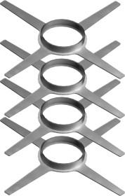 Montageschelle, 4 Stück - Kunststoff für Tecnovis TEC-PPS
