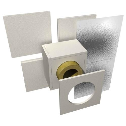 Brandschutz Wanddurchführung für Wandstärke 120 mm
