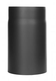 Ofenrohr - Längenelement 250 mm schwarz - Tecnovis TEC-Stahl