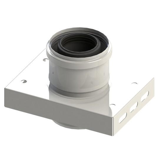 Grundplatte für Zwischenstütze - konzentrisch für Tecnovis TEC-LAS-PP-VL