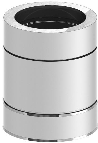 Längenelement 250 mm - doppelwandig - Tecnovis TEC-DW-Standard
