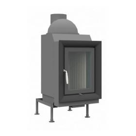 Heizeinsatz Brunner HKD 5.1 Drehtür Flachglas 10 kW
