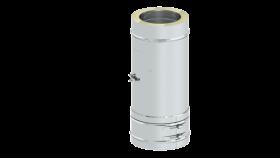 Reinigungselement Design plus für Festbrennstoffe (Außenbereich) - doppelwandig - Tecnovis TEC-DW-Classic