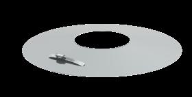 Wandrosette für Tecnovis Systeme
