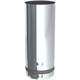Pelletofenrohr - Längenelement 250 mm - unlackiert - Tecnovis TEC-PELLET