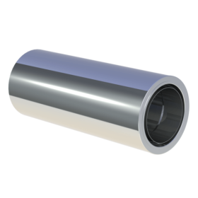 Längenelement 500 mm mit Wandfutter kürzbar - doppelwandig - Tecnovis TEC-DW-Standard